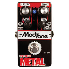 MODTONE EXTREME METAL PEDALE EFFETTO DISTORTION PER CHITARRA