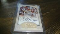 2012 TOPPS GYPSY QUEEN CHRIS HEISEY    AUTOGRAPHED BASEBALL CARD