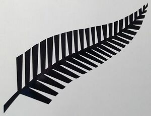 Fern Leaf Decal NZ Sticker Outdoor Quality Vinyl Any Colour Buy 2 Get 1 Free