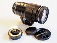 Olympus M. Zuiko Digital 40-150 mm F 2.8 Pro obiettivamente incl. mc-14 duplicatori focale