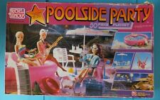 Vintage 1987 Rich & Famous TV STAR Playset Play With Dolls Barbie Maxie Sindy ..