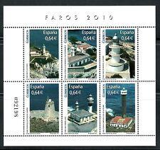 ESPAÑA 2010 FAROS 4594 HB 6v.