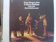 DAVE BRUBECK/GERRY MULLIGAN Live At The Berlin Phil Orig 1972 VG/VG CBS  LP
