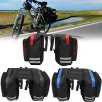 600D 20L Bike Bicycle Rear Rack Seat Saddle Bag Pannier Tail Durable waterproof
