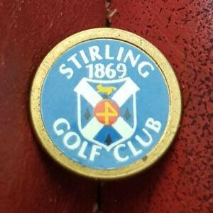 Stirling Golf Club Ball Marker (Vintage Brass)