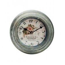 Horloge murale Parfumerie de Luxe cadre en zinc