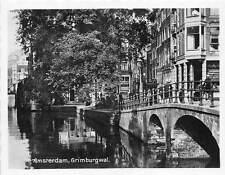 B44374 Amsterdam Haven het IJ 7x9 cm    netherlands