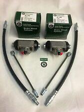 Land Rover Series 3 SWB 88 RHS & LHS Front Wheel Cylinders & Brake Pipe & Hose