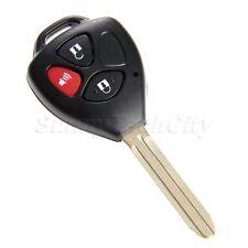 Remote Key Fob Keyless Entry Shell Case Uncut Blank For Toyota RAV4 2006-2010