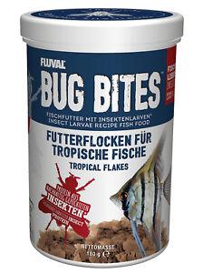 Fluval Bug Bites Tropical Fish 33.8oz/180gr. Flocks New