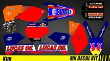 Kit Déco Moto / Mx Decal Kit Ktm SX 50/65/85 - Lucas Oil
