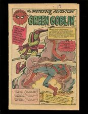Amazing Spider-Man #14 Coverless Ditko 1st Green Goblin Hulk X-Over Enforcers
