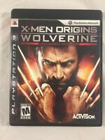 X-Men Origins: Wolverine UnCaged Edition (Sony PlayStation 3 PS3, 2009)