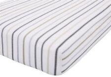 Linge de lit et ensembles gris avec des motifs Rayé pour chambre à coucher