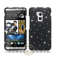 HTC One max T6 Shield Crystal Black Cover Shell Protector Guard Shield