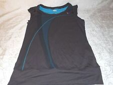 Nike Nike T-shirt Fit Dry Top Cotton Sleeveless Women's Girl' Tee Size S in Dark