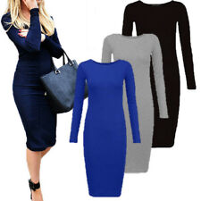 Ladies Women Sexy Bandage Bodycon Evening Cocktail Party Long Sleeve Mini Dress