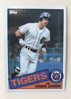 Howard Johnson 1985 Topps Card #192 Detroit Tigers NM/MN+ ~ Free Shipping