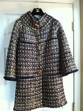 Chanel 11A NEW TAG Paris-Byzance GOLD MULTICOLOR GRIPOIX Buttons JACKET FR48$10K