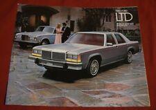 Ford, LTD, 1980, Brochure, Landau, Country Squire Wagon, Wagon, 2 door, MINT