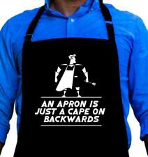 Cape On Backward, Funny Quality Apron for Grilling, Great Gift for Men ApronMen