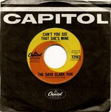 """Dave Clark Five - Can't You See That She's Mine ORIG 1965 Capitol Swirl 7"""" NM 45"""