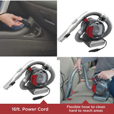 Black Decker Car Vacuum Cleaner Vehicle Vac 12v Corded Portable Vehicle Car RV