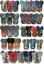 Unbranded Polyester Classic Floral Tops & Shirts for Women