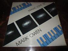 "MARK OWEN MAGIC LOVE 1984 Mega rare 12"" Italy ITALO DISCO Wonderful NM Unplayed"
