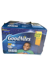 Goodnites Boys' Bedtime Nighttime Underwear Size L/Xl Fits Size 8-14 Box Of 34