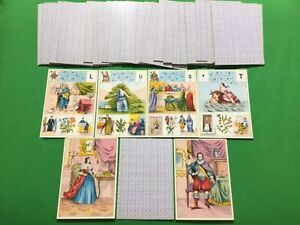 Old Vintage Grimaud * GRAND JEU Mlle LENORMAND * Fortune Telling Playing Cards