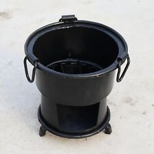 Antique Iron wood Coal burning Kitchen use stove Sigri Fire pit Portable India