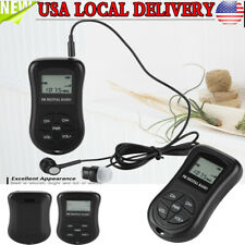 Mini Radio With Portable Pocket Digital Battery Powered FM Radio Receiver