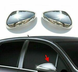 Citroen DS3/DS4/C5/C4/C3 Chrome Wing Mirror Cover 2Pcs S.Steel