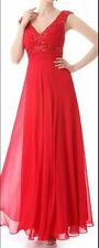 Chiffon Evening, Occasion Ball Gown Regular Dresses for Women
