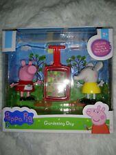 Peppa Pig Gardening Day Figure Set NEW