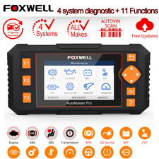 FOXWELL NT634 OBD2 Diagnostic Scanner ABS SRS DPF EPB SAS EPB Injector Coding