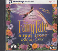 Fairy Tale A True Story Activity Center PC CD Rom Game Based On Film Learning