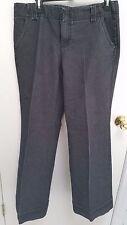 Metro 7 Women's Dress Pants, size 10, black wide leg                B