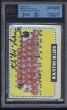 BUD ADAMS JR SIGNED 1964 TOPPS CARD AUTOGRAPH JSA/BGS