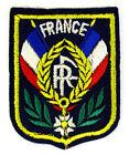 ECUSSON VILLE - REGION BLASON BRODE EMBROIDERED PATCH DOUBLE DRAPEAU FRANCE RF
