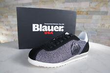 BLU USA GR 39 sneakers Scarpe con lacci scarpe 7S BOWLING mes Nero NUOVO