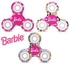 new Fidget Spinner Barbie Originale Gioco Bambina Antistress 3 colori