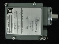 Square D Pressure Switch SPDT Adjustable Differential 9012 GAW4-S12S Series C