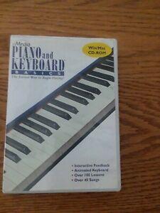 MEDIA PIANO AND KEYBOARD BASICS WIN/MAC CD-ROM