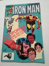 Iron Man #184 (Jul, 84 Marvel) July 1984 California Here We Come