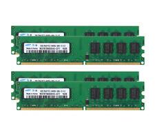 8GB Samsung 4pcs 2GB 2RX8 PC2-6400 DDR2 800Mhz 240pin DIMM NONECC Desktop Memory