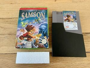 Jeu Nintendo NES Little Samson / Boite PAL B FRG - RARE
