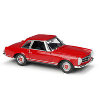 Welly 1:24 Mercedes 1963 Benz 230SL Red Diecast Model Car New in Box