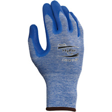 6 Pair Ansell HyFlex Gloves 11-920-8 Oil Repellent Size 8 Brand New